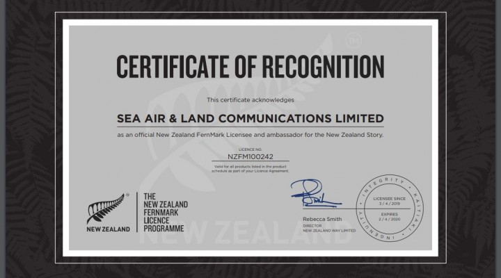 Salcom becomes a New Zealand FernMark Licensee